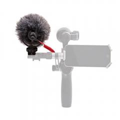 Микрофон с быстросъемным креплением DJI RODE VideoMicro & OSMO 360 Quick Release Mic Mount for OSMO (Part45)