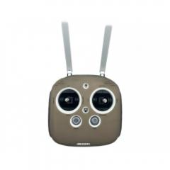 Силиконовый чехол серый для пульта DJI Phantom 3/4/Inspire 1 с подписями назначения кнопок
